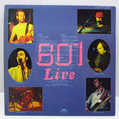 801 - 801 Live (UK 70's Reissue LP/Polydor)