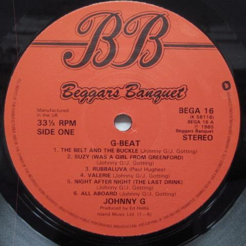 JOHNNY G - G-Beat (UK Orig.2 x LP)