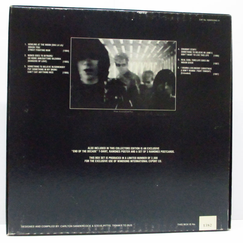 "RAMONES (ラモーンズ)  - End Of The Decade (UK 2.500 Ltd.6x12""+Poster, T-Shirts/Box)"
