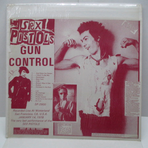 SEX PISTOLS - Gun Control (US Unofficial LP/Sid's Purple CVR)