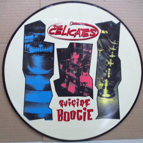 CELICATES, THE - Suicide Boogie (German Orig.Picture LP)