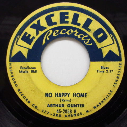 ARTHUR GUNTER - Honey Babe / No Happy Home