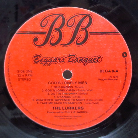 LURKERS, THE - God's Lonely Men (UK Orig.LP)