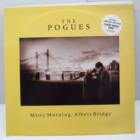 "POGUES, THE - Misty Morning Albert Bridge +2 (UK Orig.12""/YZ 407TW/No Print)"