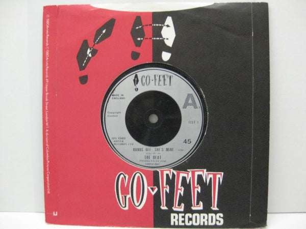 "(English) BEAT, THE - Hands Off... She's Mine (UK Re Silver Lbl.7""+CS)"