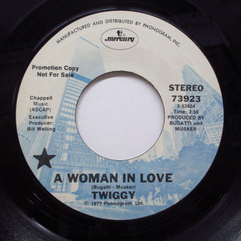 TWIGGY - A Woman In Love (Promo+CS)