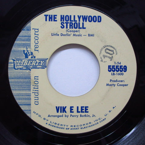 VIK E LEE - The Hollywood Stroll (Promo)
