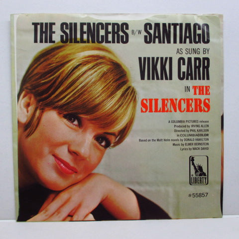 VIKKI CARR - The Silencers (Orig+PS)