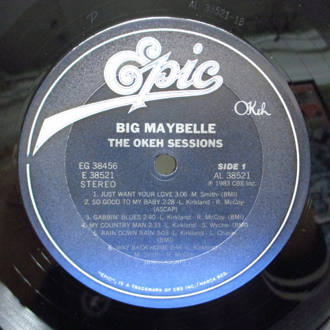 BIG MAYBELLE - The Okeh Sessions (US Orig.2xLP)