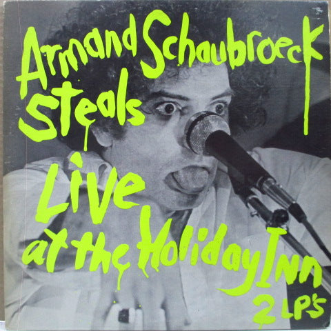 ARMAND SCHAUBROECK STEALS - Live At The Holiday Inn (US Orig.2xLP)