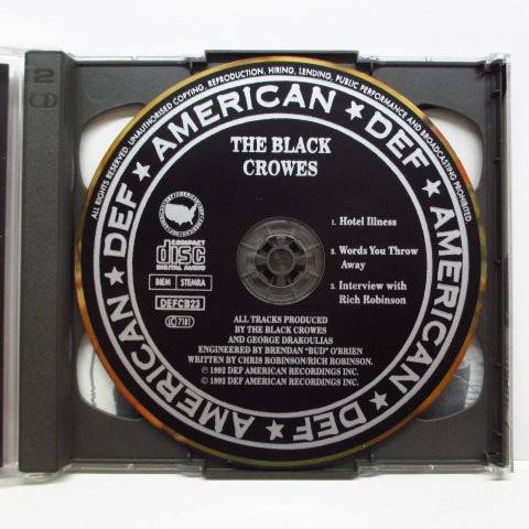 BLACK CROWES - Hotel Illness (UK CDEP)