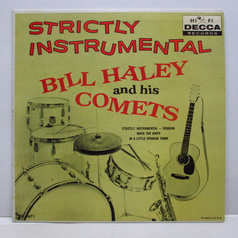 BILL HALEY & HIS COMETS - Strictly Instrumental +3 (US Orig.EP)
