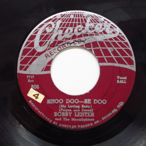 BOBBY LESTER & THE MOONLIGHTERS (MOONGLOWS) - Shoo Doo-Be Doo (Orig)
