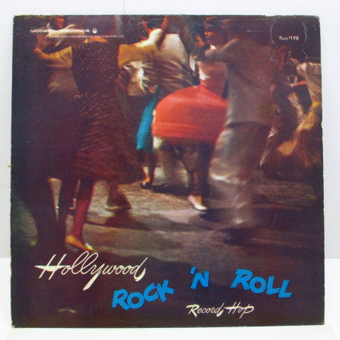 V.A. - Hollywood Rock 'N Roll Record Hop (US Orig.Mono LP)