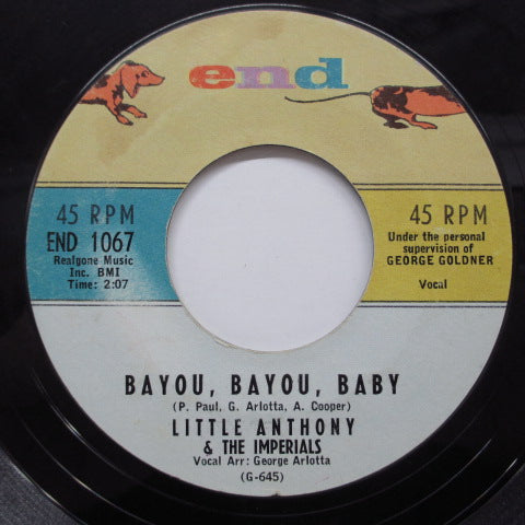 LITTLE ANTHONY & THE IMPERIALS - Bayou, Bayou, Baby (US Orig)