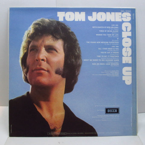 TOM JONES (トム・ジョーンズ)  - Close Up (UK Orig.Stereo LP/CS)