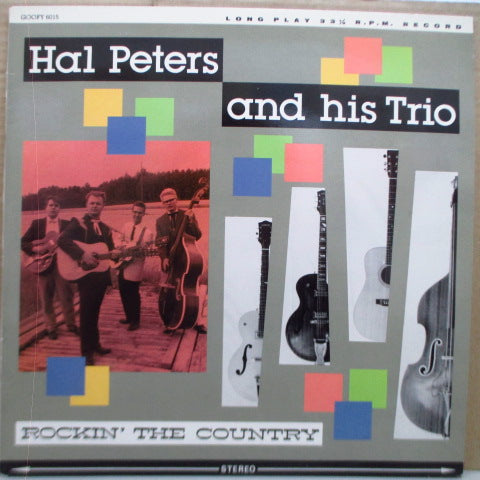 HAL PETERS AND HIS TRIO - Rockin' The Country (Finland Orig.LP)