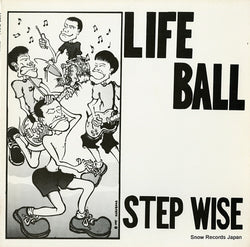 "LIFE BALL - STEP WISE (LIMITED 10"" VINYL)"