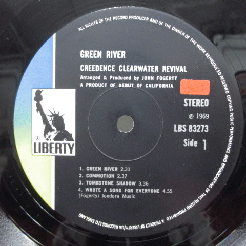 CREEDENCE CLEARWATER REVIVAL (CCR) - Green River (UK:2nd Press)