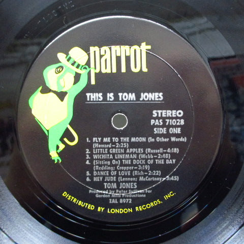 TOM JONES - This Is Tom Jones (US Orig.STEREO)