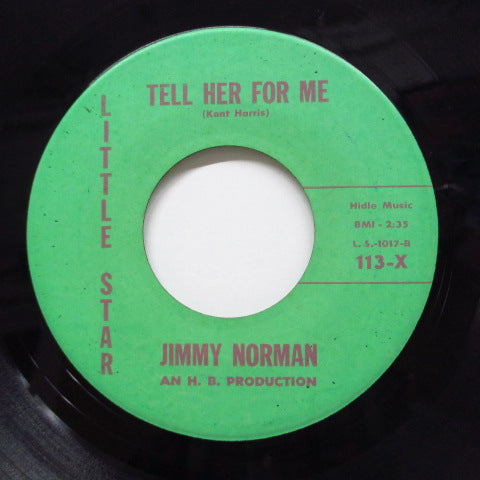 JIMMY NORMAN - I Don't Love You No More (Orig)