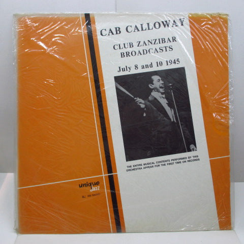CAB CALLOWAY - Club Zanzibar Broadcasts (ITALY Orig.MONO)