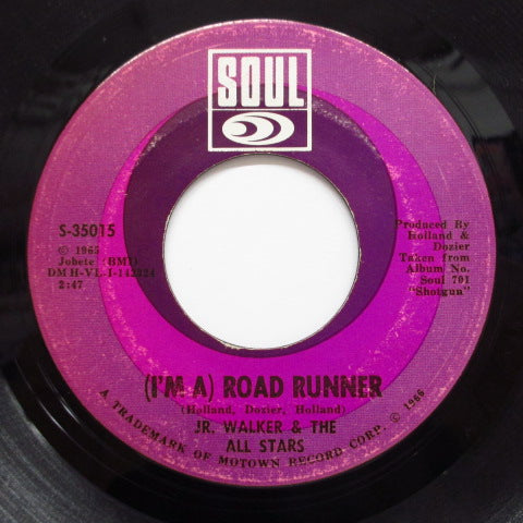JR.WALKER & ALL STARS - Road Runner (2nd Press)