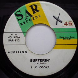 L.C.COOKE - Sufferin' / The Lover
