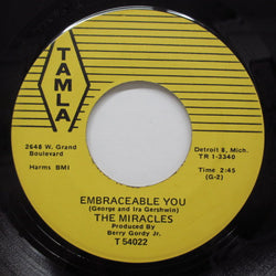 MIRACLES (SMOKEY ROBINSON & THE) - Embraceable You / After All