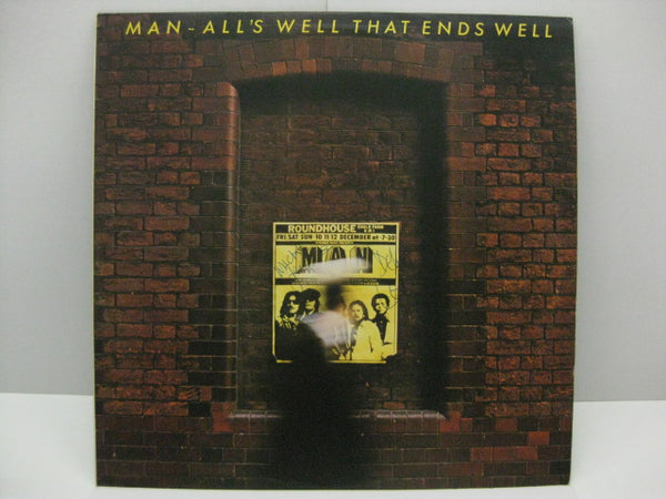 MAN - All's Well That Ends Well(UK Orig.LP/サイン入り)