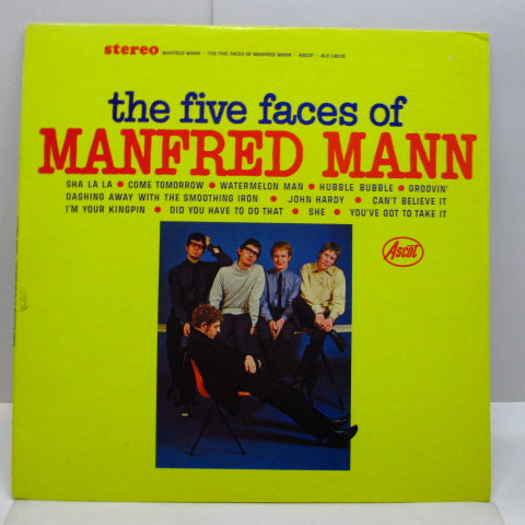 MANFRED MANN - The Five Faces Of Manfred Mann (US Orig.Stereo LP)