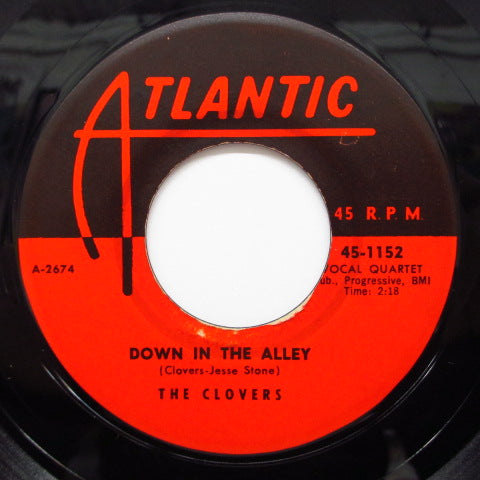 CLOVERS - There's No Tomorrow / Down In The Allley
