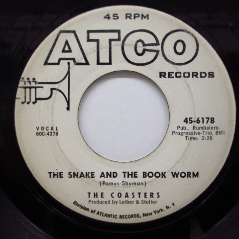 COASTERS - The Snake And The Book Worm (Promo)