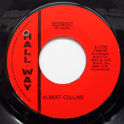 ALBERT COLLINS - Defrost / Albert's Alley ('63 Re)