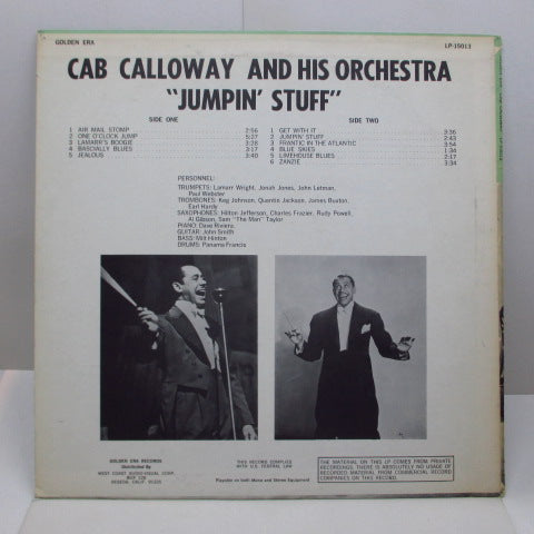 CAB CALLOWAY - Jumpin' Stuff (US Orig.)