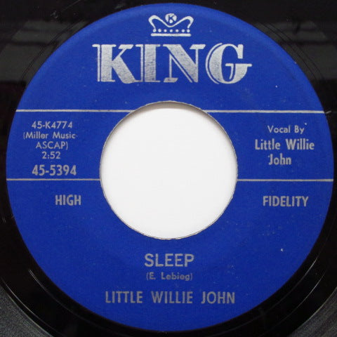 LITTLE WILLIE JOHN - Sleep / There's A Difference