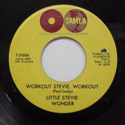 STEVIE WONDER (LITTLE) (スティーヴィ・ワンダー)  - Workout Stevie, Workout (Orig)