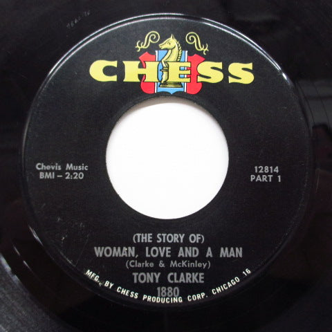 TONY CLARKE - Woman, Love And A Man (Part.1&2) (Orig)