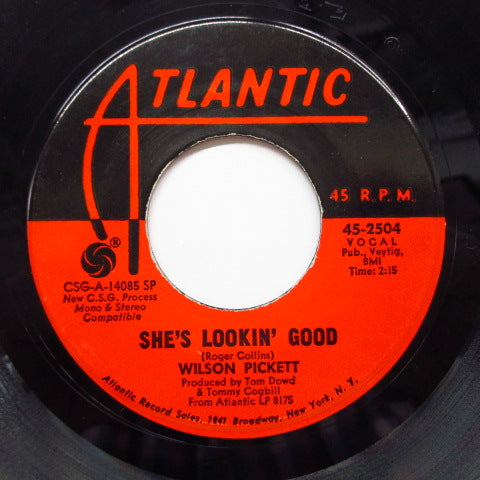 WILSON PICKETT - She's Lookin' Good (Orig)