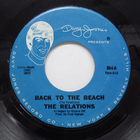 RELATIONS - Back To The Beach (Orig)