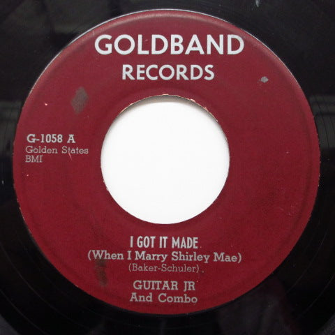 GUITAR JR AND COMBO - I Go It Made / Family Rules(Angel Child)