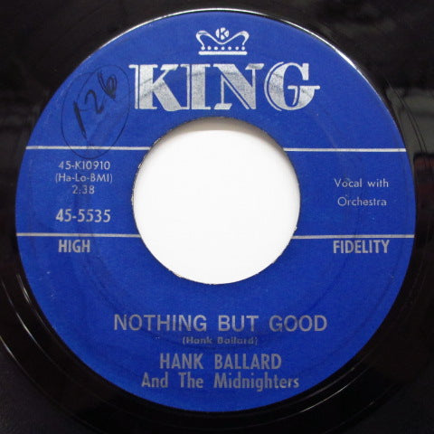 HANK BALLARD & THE MIDNIGHTERS - Nothing But Good / Keep On Dancing