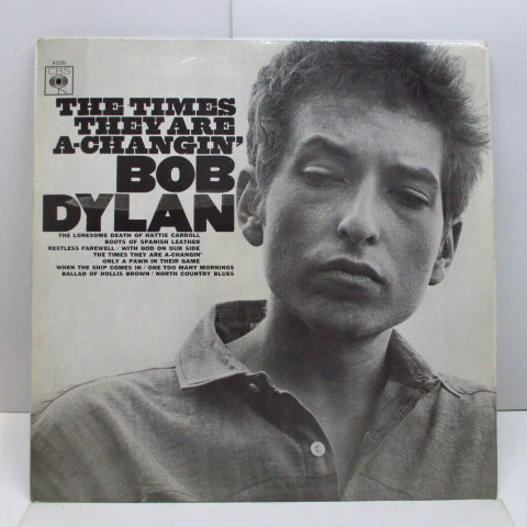 BOB DYLAN - The Times They Are A-Changin' (UK Orig.Stereo LP/CFS)