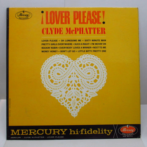 CLYDE McPHATTER - Lover Please (US Orig.MONO)