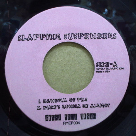 "SLAPPING SUSPENDERS-Hyndevad (Japan Orig.7 "")"