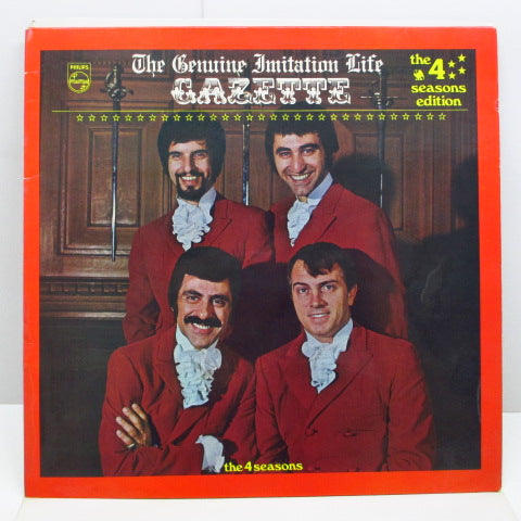FOUR SEASONS - The Genuine Imitation Life Gazette (UK Orig.Stereo LP/CS)