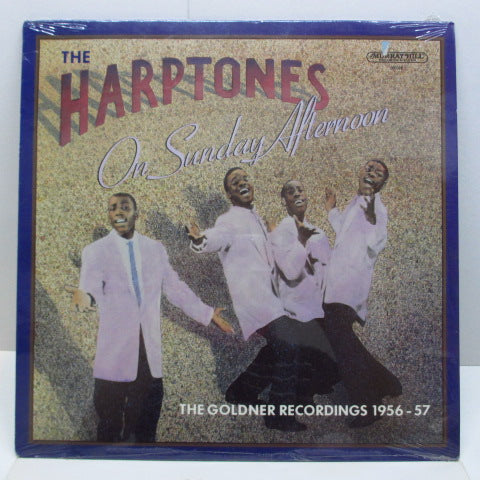 HARPTONES - On Sunday Afternoon / The Goldner Recordings 1956-57 (Orig)