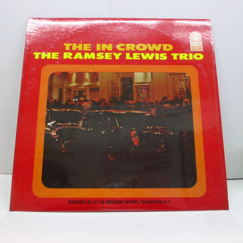 RAMSEY LEWIS TRIO - The In Crowd (US 60's Cadet RE Stereo LP)