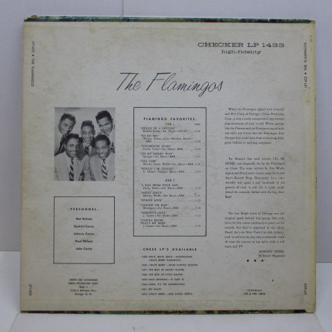 FLAMINGOS - The Flamingos (US Orig.Mono LP)