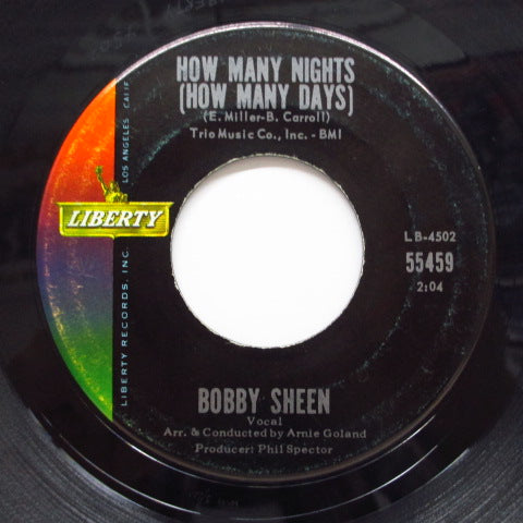 BOBBY SHEEN - How Many Nights (How Many Days)
